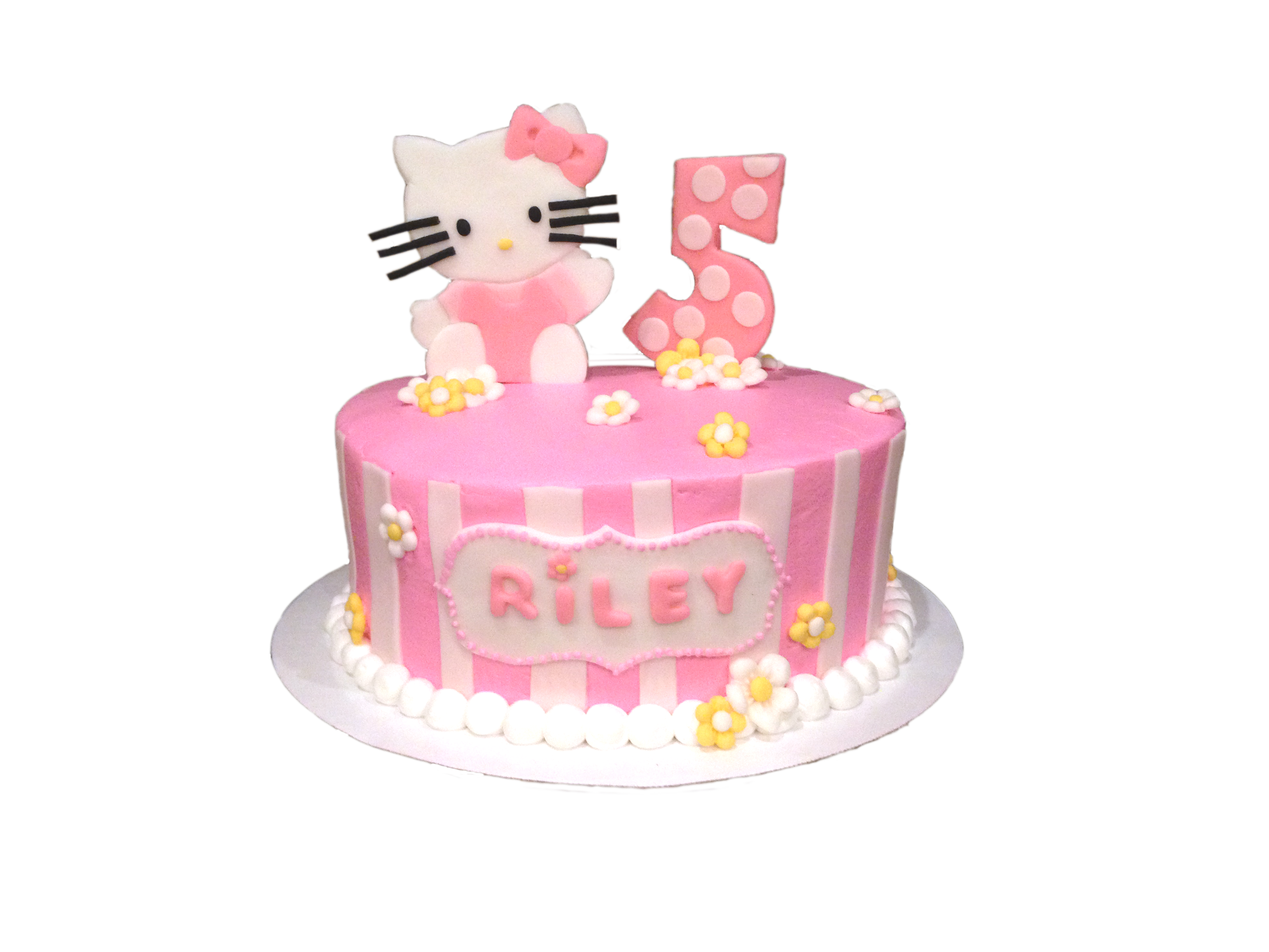 Hello Kitty Birthday Cake Polka Dot Apron Sweets