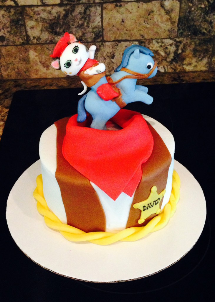 Sheriff Callie's Wild West Birthday Cake