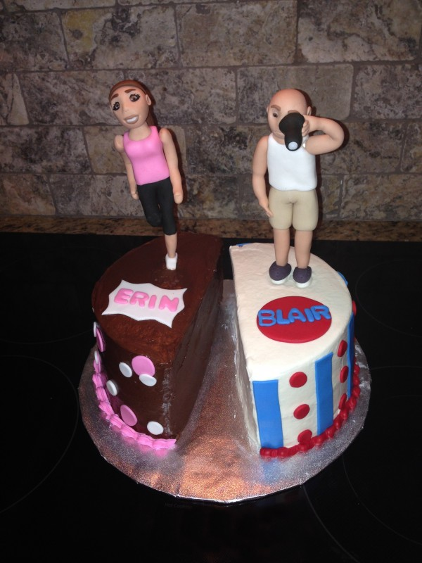 Dual Birthday Cake for a couple.