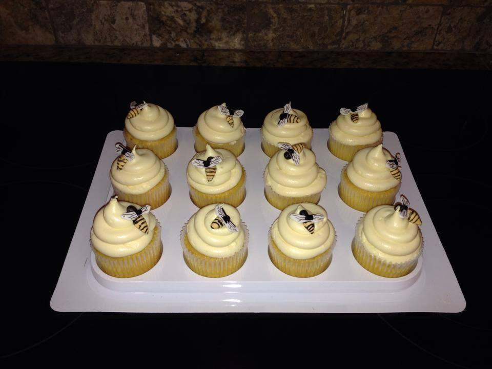 bee cupcakes dozen